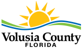 Volusia County Logo On Desktop In The Footer
