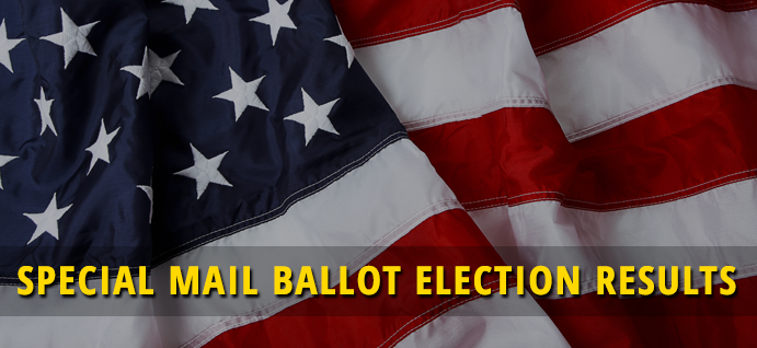 Special Mail Ballot Election