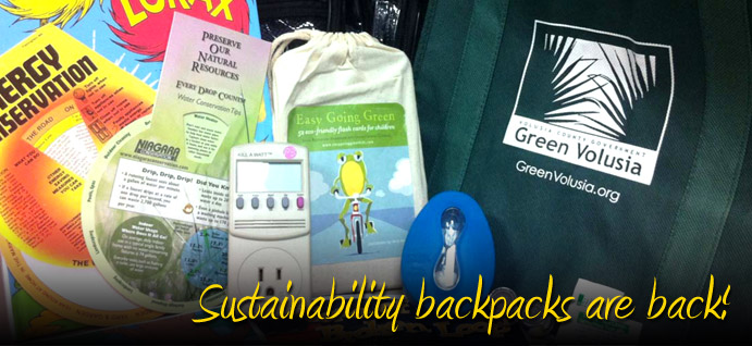 Sustainability backpacks