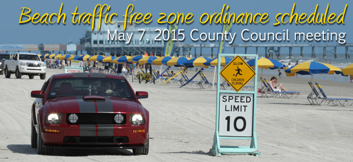Beach Driving Ordinances Meeting