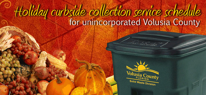Holiday Collection 1 - thanksgiving garbage collection
