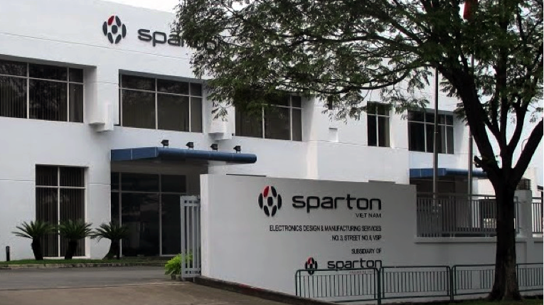 Photo of Sparton facility in DeLeon Springs