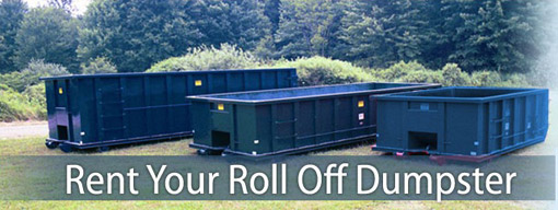 Image result for roll off dumpster rentals