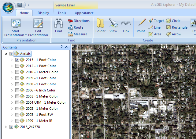Countywide Aerials - Aerial mapping software
