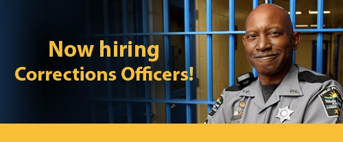 now hiring corrections officers. click here for details.