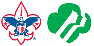 Graphic of Boy Scout and Girl Scout logo
