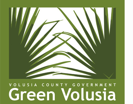 Graphic of Green Volusia logo