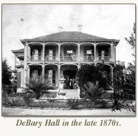 debary hall late 1870's