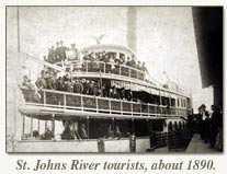 st johns river tourists about 1890