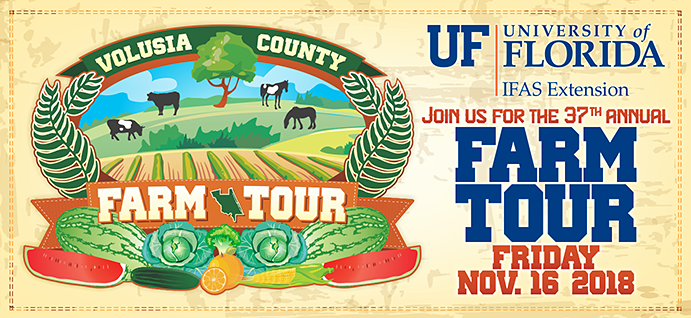 Join us for the 37th annual Farm Tour Friday November 16, 2018