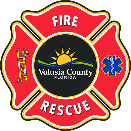 Volusia County Fire Rescue logo