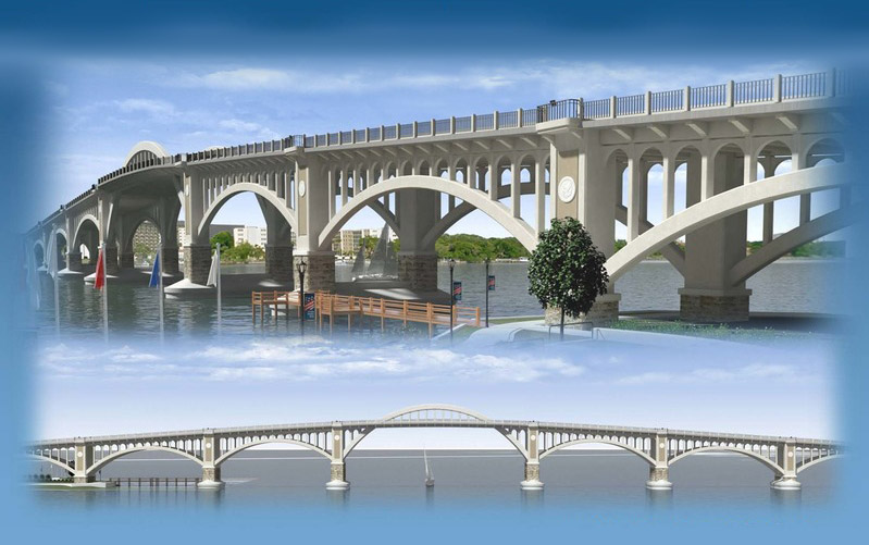 veterans Memorial Bridge rendering
