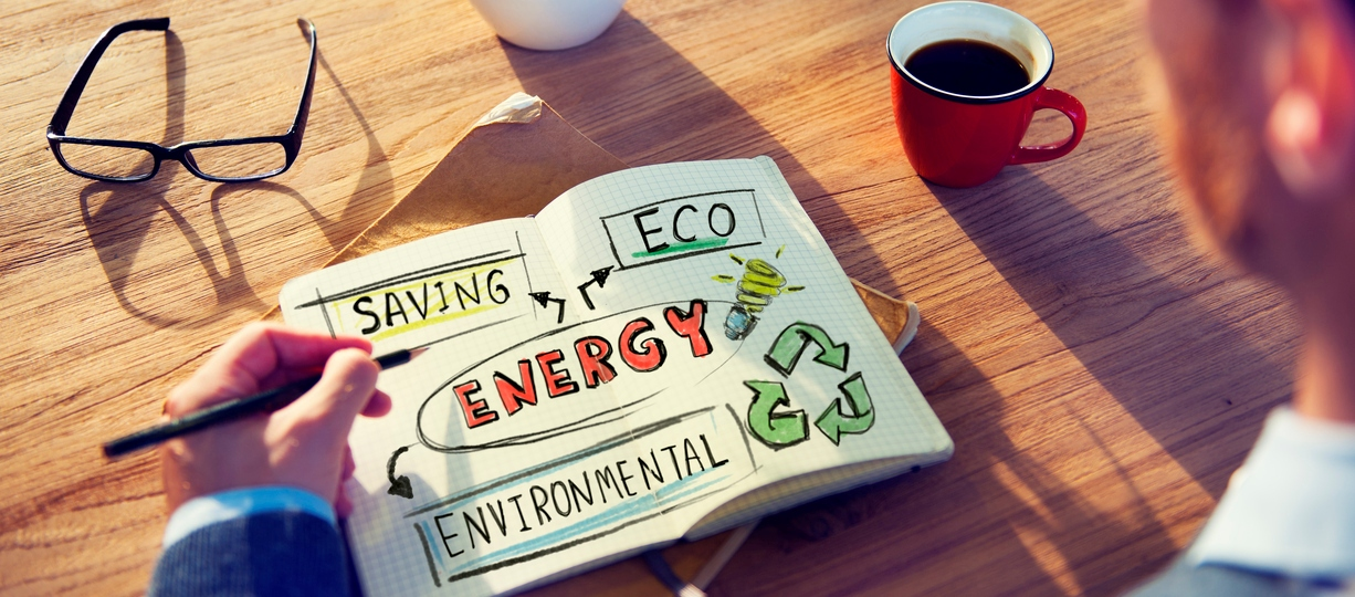 saving energy and eco environmental