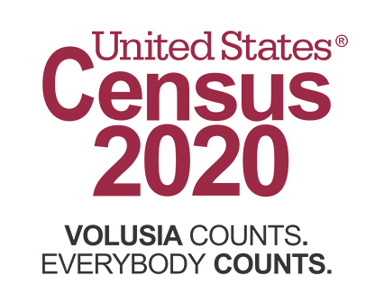 united states census 2020 volusia county counts everybody logo