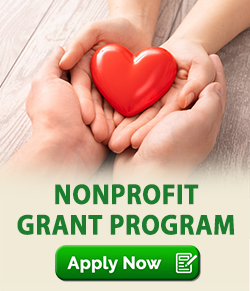 nonprofit grant program. Apply now.